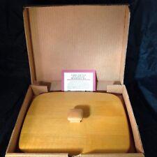Longaberger Harbor Woodcrafts Lid NEW in Box 50687 USA Hardwood Maple