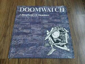 DOOMWATCH - A SYMPHONY OF DECADENCE LP 1989 RELATIVITY RECORDS EX