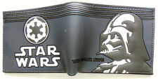 Star Wars Darth Vader Bifold Wallet purse id window 2 card slot zip coin Cartoon