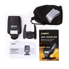 Kenro Mini Speedflash Electronic Flashgun Kit for Micro 4/3 #KFL102FT (UK Stock)
