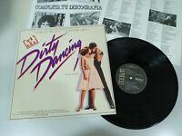 """Dirty Dancing Soundtrack Patrick Swayze Jennifer Grey - LP Vinilo 12"""" VG/VG"""