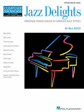 Jazz Delights HLSPL Book *NEW* Boyd Sheet Music AMEB Piano Grade 4 Pieces