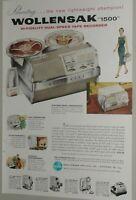 1957 Wollensak 1500 Tape Recorder advertisement, Portable Recorder, cameras too