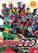 Kamen Rider OOO Vol.1-48 End + MV + Movie - US Seller Ship FAST
