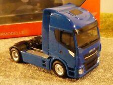 1/87 Herpa Iveco Stralis Highway XP 2-Achs ZM blau 309158