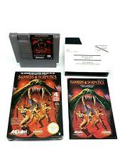 Nintendo NES Swords and Serpents Complete [FAH] Pal B