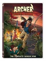 Archer Complete 9th Ninth Season Nine DVD Set Series TV Show Episodes Comedy 9