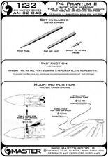 Master 32043 1:32 McDonnell F-4 Phantom II (Short Nose) & Phantom FG.1 & FGR.2