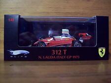 1/43 Mattel Elite Ferrari 312 T Niki Lauda Italia Campeón Mundial GP 1975