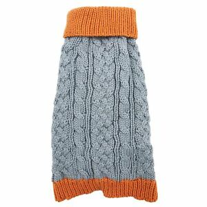 Dog Sweater Warm Winter Knitted Clothes Apparel Puppy Cat Coat Small Large Pet