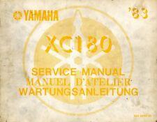 Yamaha XC180 1983 Service Manual 32H-28197-80