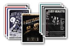 JEFF HEALEY - 10 PROMOCIONAL Pósters Coleccionable Tarjeta Postal Juego #1