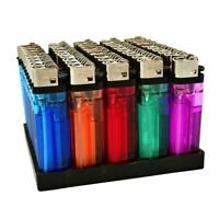 50 Cigarette Wholesale Disposable Lighters Pack with Display Stand