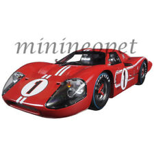 COLLECTIBLES 423 1967 FORD GT MK IV LEMANS WINNER 24HRS 1/18 DIECAST #1 RED