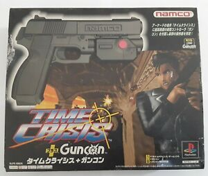 CIB Time Crisis Guncon Bundle PS1 PSX Playstation JP Import US Seller Read Desc.