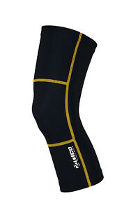 Zimco Winter Cycling Thermal Fleece Cycle Bike Bicycling Roubaix Knee Warmers