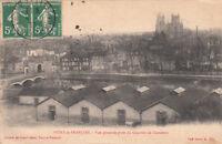 VITRY-LE-FRANCOIS vue générale prise du quartier de cavalerie timbrée 1916