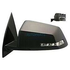 NEW LEFT POWER MIRROR BLACK W/ SIGNAL FITS 2009-17 CHEVROLET TRAVERSE GM1320383