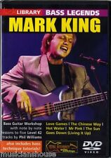 LICK LIBRARY Bass Legends LEARN MARK KING Level 42 FUNK SLAP LESSON Guitar DVD