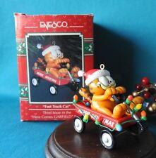 Enesco Garfield Ornament 1978 Fast Track Cat 3rd Here Comes Garfield Series