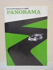 Porsche Panorama Magazine PCA June 1975 Vintage
