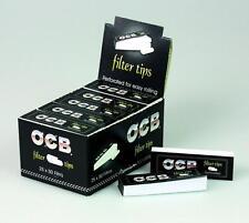 OCB Filtertips Filter Tips - 1 Karton mit 25 Heftchen à 50 Tips (Filter, Zigaret