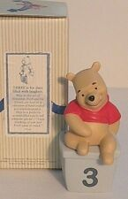 """Disney Pooh & Friends-Nib! """"Birthday # 3 Pooh(3 is for Days Filled with Laughter"""