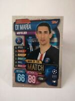 Carte panini match attax 2019 - 2020 DI MARIA PSG Paris champions league