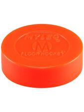 Mylec Floor Hockey Puck - Orange (New)