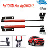 Pair Front Hood Bonnet Gas Strut Damper Lift Kit For TOYOTA Hilux Vigo 2005-2012