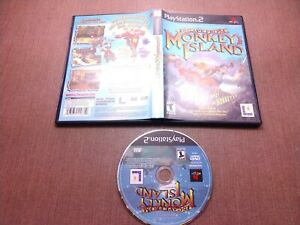 Sony PlayStation 2 PS2 Disc Case No Manual Tested Escape from Monkey Island