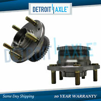 Pair REAR Wheel Hub and Bearing Assembly for Mazda MPV Protege Millenia w/ ABS