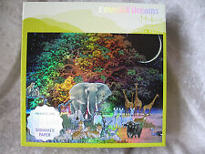EXTREME RARE EMERALD DREAMS Hiroo Isono 500 Pc Puzzle CEACO #1124-5 HOLO-GLOW