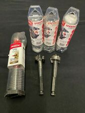 "Lot of 5 Diablo Wood Bits: 1-3/8"" 7-1/2"" Auger & 7/16"" 2-Cutter Self-Feed Bits!"