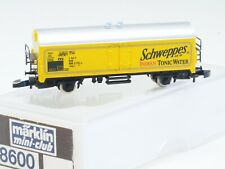 Marklin Z-scale DB Refrigerator Car of Company Schweppes Tonic Water