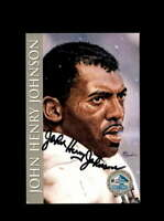 John Henry Johnson SGC Nm Mt 8 1998 HOF Signature Series Autograph