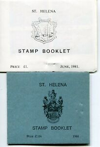 ST HELENA 1981-94 BOOKLETS SB4/5 ALL PLATE BLKS