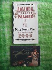 ORIGINAL TOUR MANAGER'S PRIVATE TOUR BOOK - AMANDA PALMER 2009 TOUR - VERY RARE