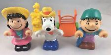 McDonalds Happy Meal Toys 1989 Peanuts Farm Snoopy Lucy Linus Figure Figurine P5