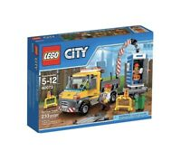 LEGO City 60073 Service Truck & Toilet With Instructions No Box Complete 5-12Yrs