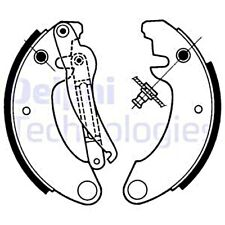DELPHI Brake Shoe Set For CITROEN 2 Cv 70-90 GBS1076