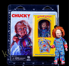 New NECA Chucky Movie Real Clothes Action Figure 13cm PVC Scared Doll Reel Toy