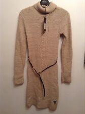 BNWT🌹LIPSY🌹SIZE 8 DRESS Knitwear Ladies Knitted Dress Size 8 New. Stone