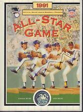 All Star Baseball Game Program  Toronto Blue Jays 1991 012318nonr
