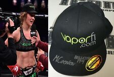 Marloes Coenen Signed Bellator MMA 174 Retirement Fight Worn Used Hat BAS COA