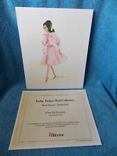 2015 Barbie Doll Convention Silkstone  Blush Beauty  Numbered Print  AA Doll