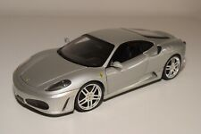 V 1:18 HOTWHEELS FERRARI F430 F 430 METALLIC GREY NEAR MINT CONDITION