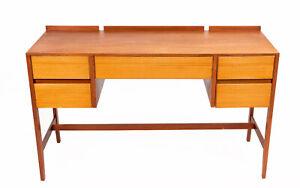 Mid Century Loughborough for Heals Teak Desk Dressing Table