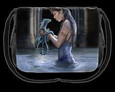 Bolso de Bandolera - AGUA Dragón - Anne Stokes - Mensajero - Fantasía