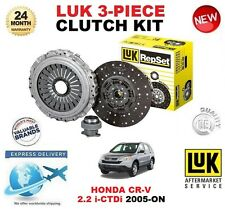 Para HONDA CRV II III 2.2 ictdi + 4WD 2005-ON 140BHP Kit de embrague LUK 3 Pieza